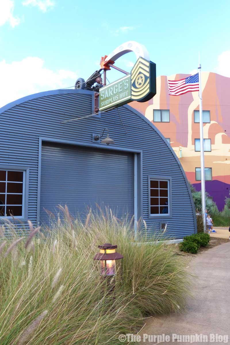 Disney's Art of Animation Resort - Cars Courtyard - Sarge Model