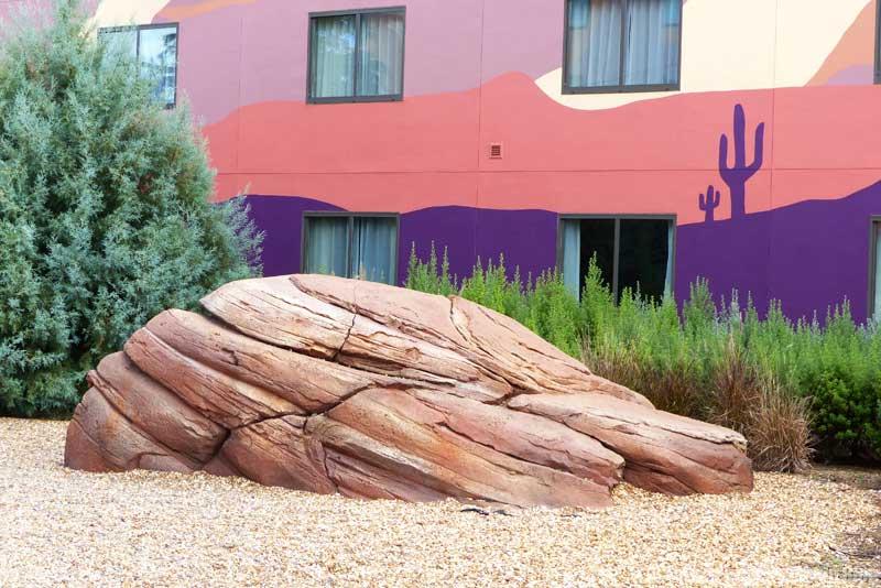 Disney's Art of Animation Resort - Cars Courtyard