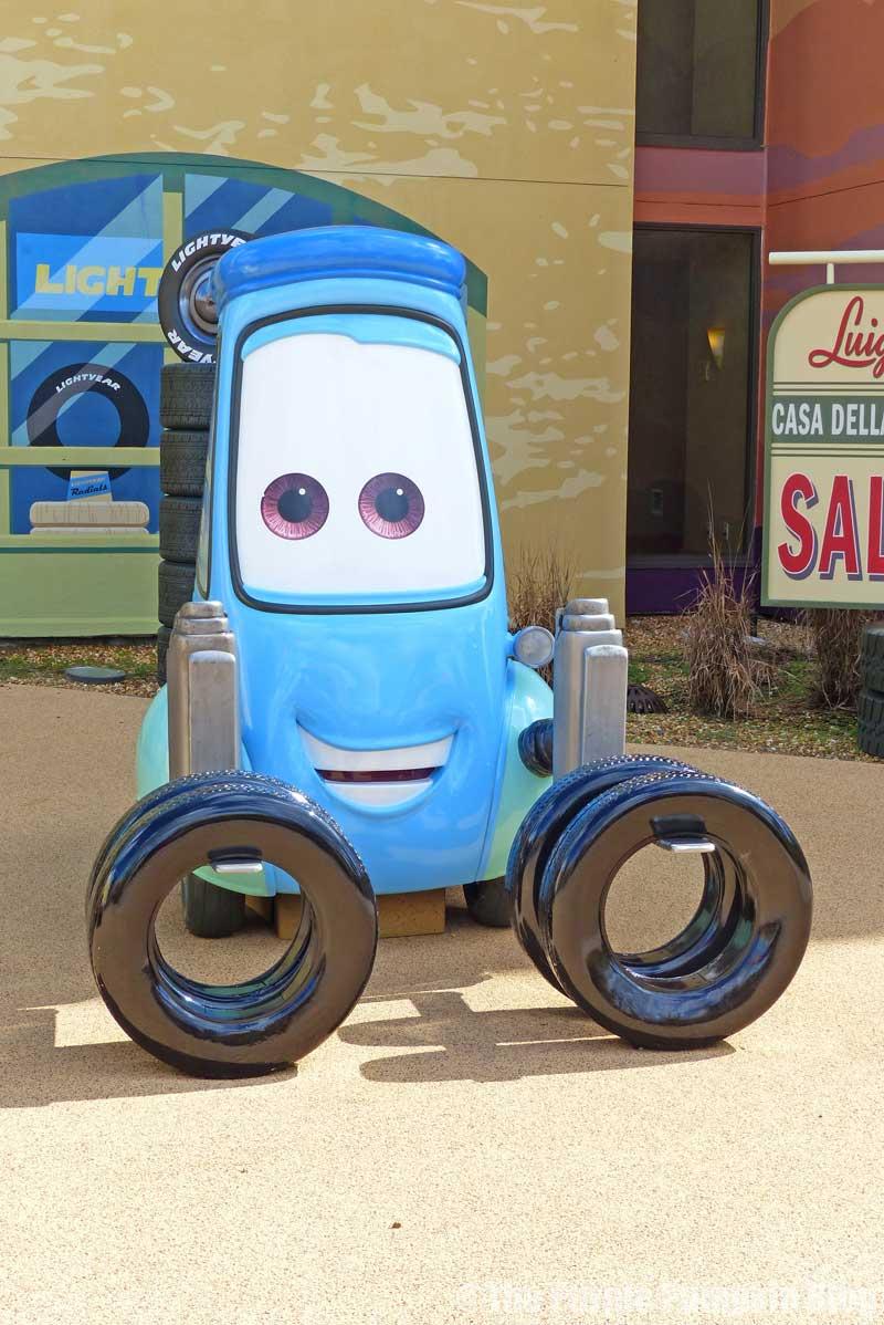 Disney's Art of Animation Resort - Cars Courtyard - Guido Model