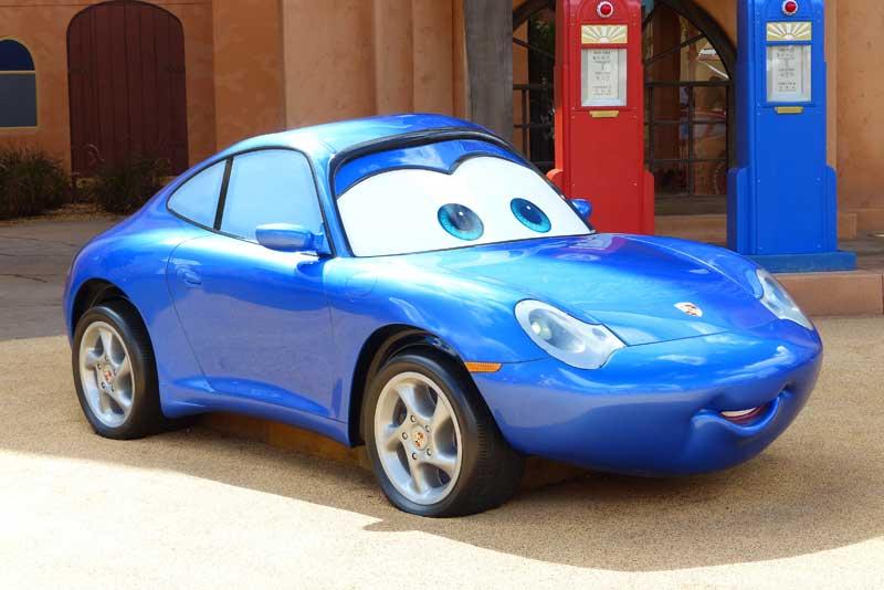 Disney's Art of Animation Resort - Cars Courtyard - Sally Carrera Model