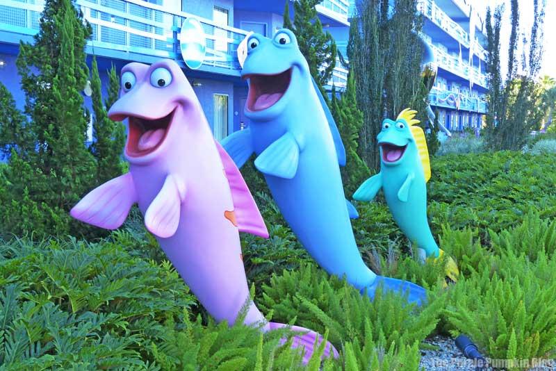 Disney's Art of Animation - The Little Mermaid Courtyard