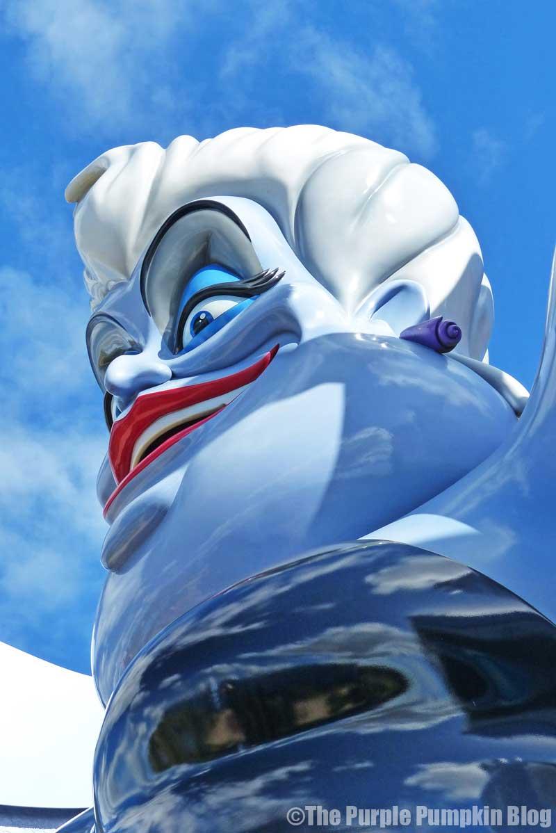 Disney's Art of Animation - The Little Mermaid Courtyard - Ursula Statue