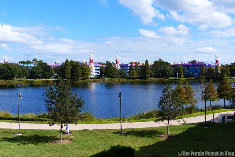 Disney's Pop Century Resort from Disney's Art of Animation Resort