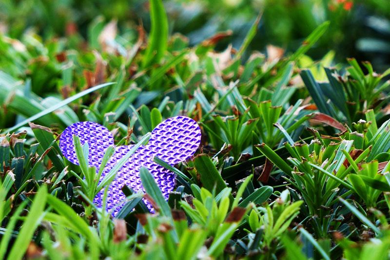 Purple Mickey Mouse Confetti