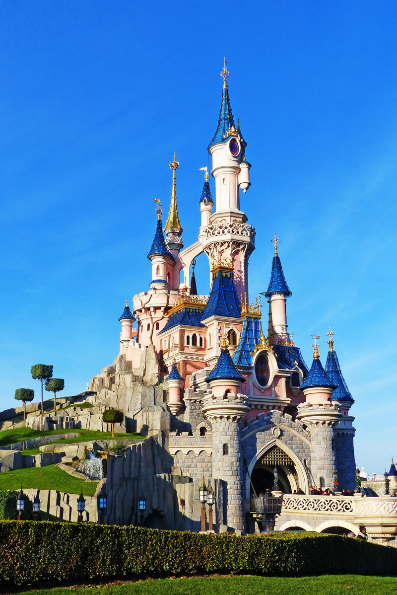 Sleeping Beauty Castle Disneyland Paris