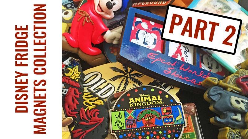 Disney Fridge Magnets Collection Part 2