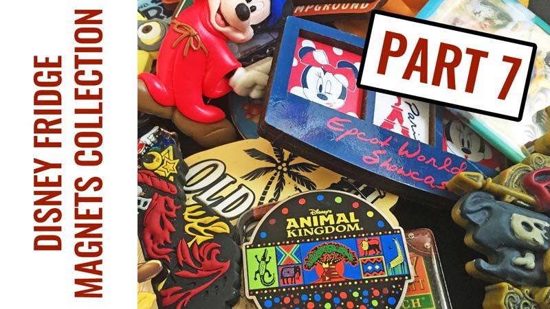Disney Fridge Magnets Collection - Part 7