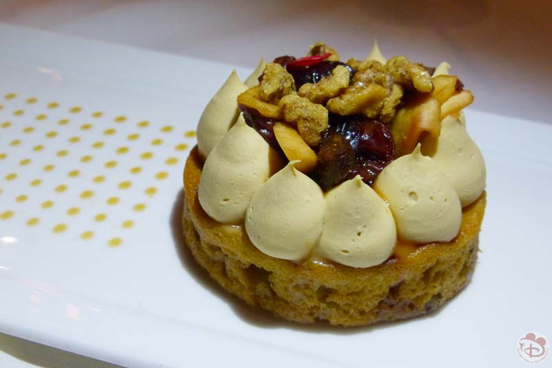 Heirloom Apple and Walnut Cake - California Grill