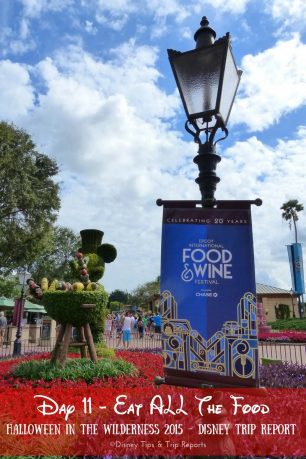 Day 11 - Eat ALL The Food - Disney Trip Report