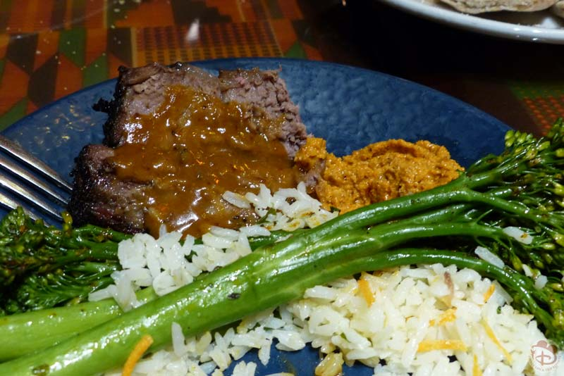 Dinner at Boma: Flavors of Africa