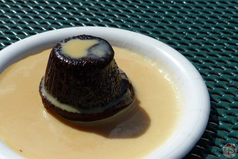 Warm Chocolate Pudding - Epcot Food & Wine Festival