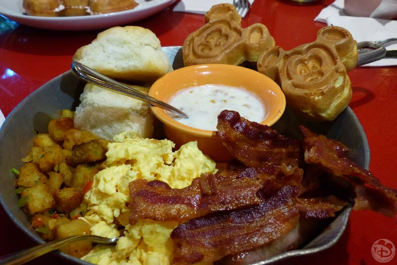 Whispering Canyon Cafe - Breakfast