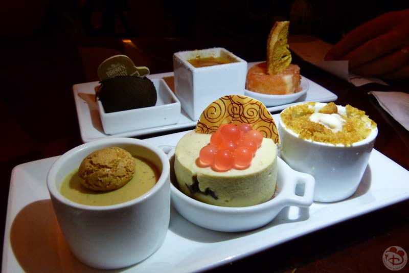 The Hollywood Brown Derby Dessert Trio