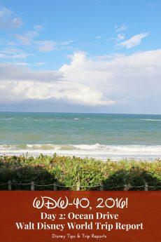 Day 2 - Ocean Drive - WDW-40, 2016