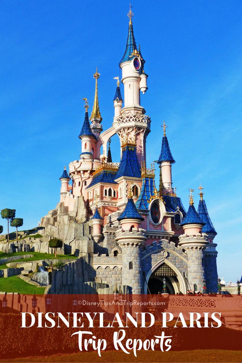 Disneyland Paris Trip Reports from 2010 - 2015