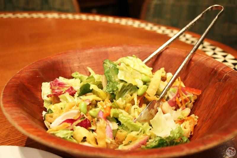 Mixed Greens Salad with a Lilikoi dressing