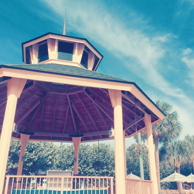 Gazebo at Disney's Vero Beach Pool