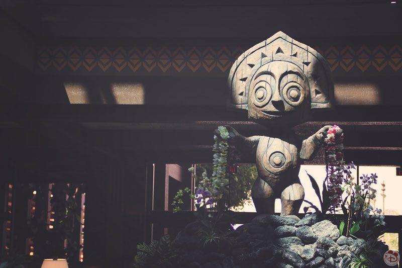 Maui TikiGod Statue - Disney's Polynesian Village Resort