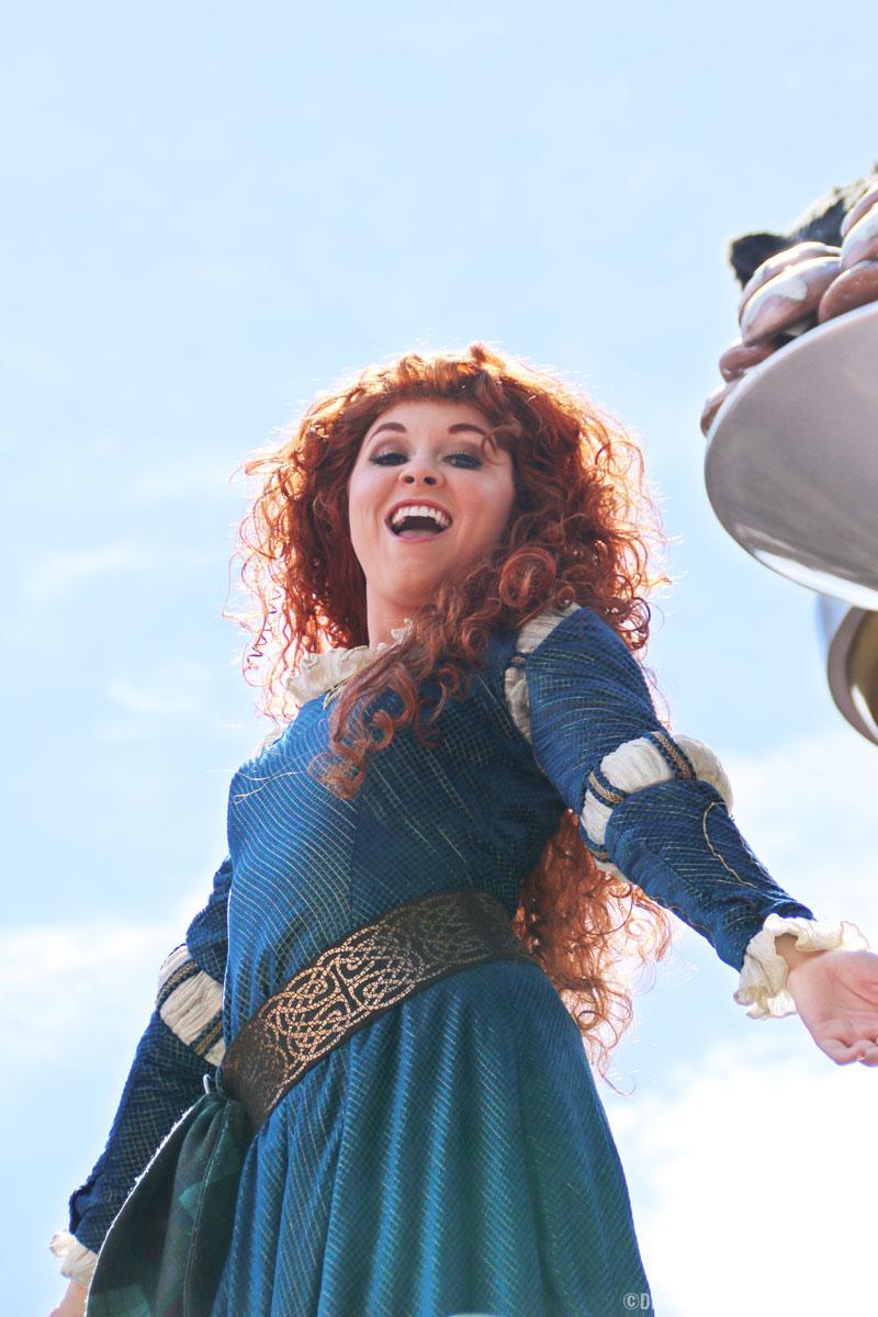 Festival of Fantasy Parade - Magic Kingdom - Merida