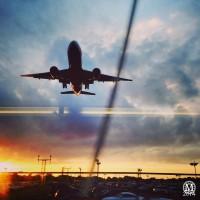 Aeroplane Taking Off at Heathrow Airport