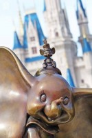 Dumbo Statue at Magic Kingdom