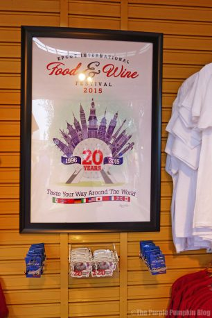 Epcot Food & Wine Festival Merchandise 2015