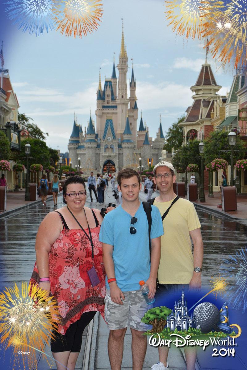 Us at Magic Kingdom 2014
