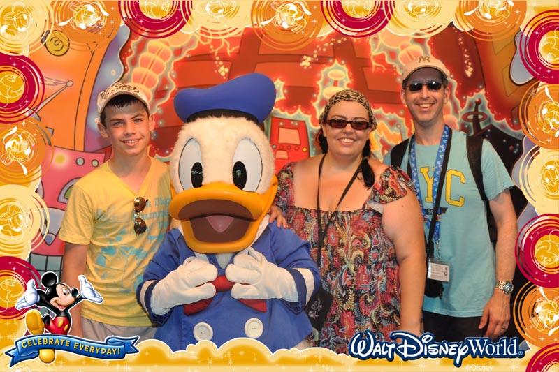 Us at Epcot Character Spot 2011