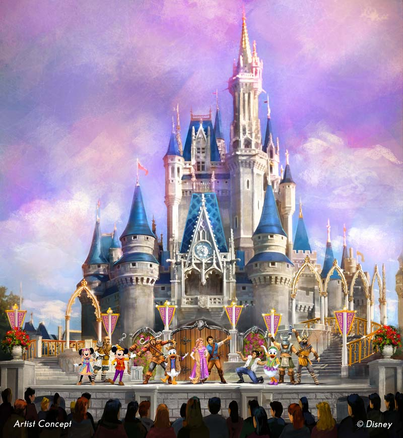 All New Mickey's Royal Friendship Faire Show