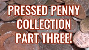 Pressed Penny Collection - Part 3 - An awesome collection of the elongated pennies you can get at Walt Disney World!