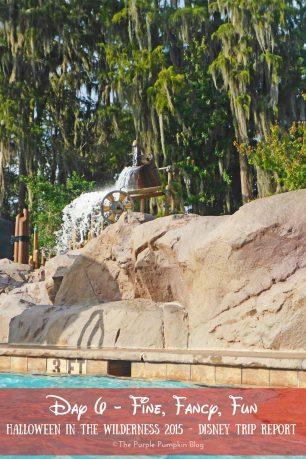 Day 6 - Part 2 - Fine, Fancy, Fun - Halloween In The Wilderness 2015 Disney Trip Report