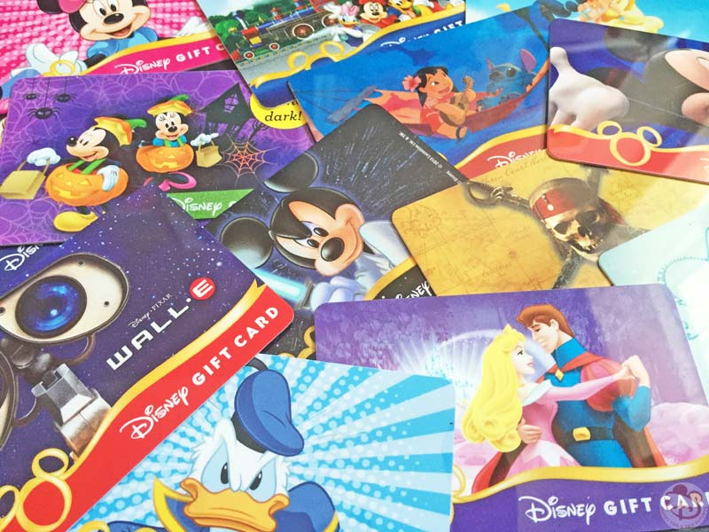 Disney Gift Card Collection - video of lots of different Disney Gift Cards, available at Disney Parks & Resorts