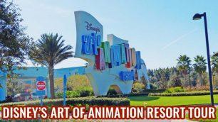 Disney's Art of Animation Resort Tour - a great short video showing this fun family resort at Walt Disney World!