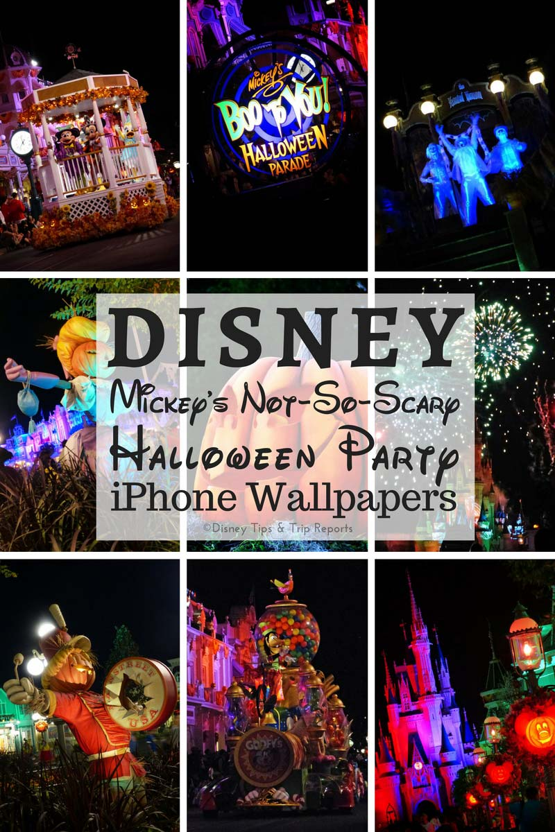 Disney Iphone Wallpapers Mickey S Not So Scary Halloween Party