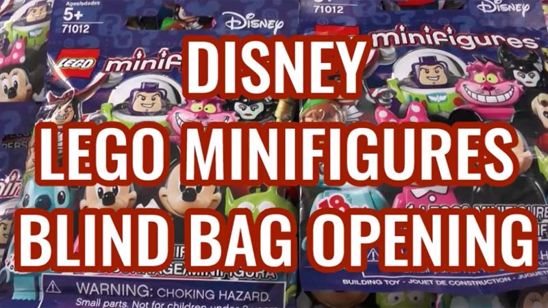Disney LEGO Minifigures - Blind Bag Opening of LEGO Minifigs