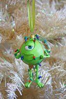 Mike Wazowski Disney Christmas Ornament
