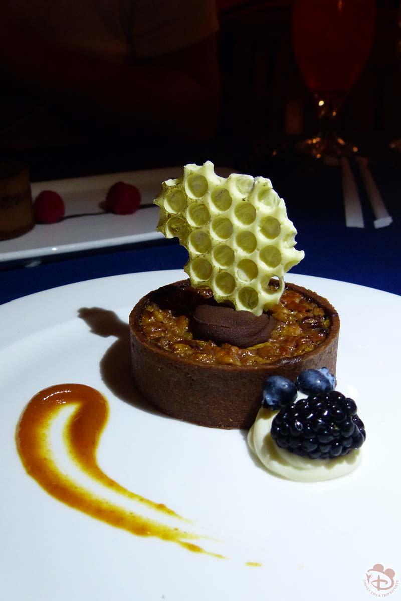 Honey Pecan Tart with Pumpkin Butter - Narcoossee's at Grand Floridian