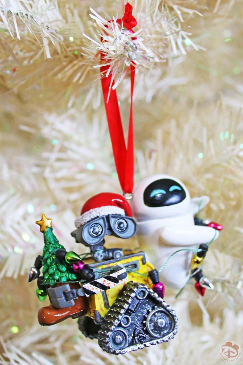 Walle & Eve Disney Christmas Ornament