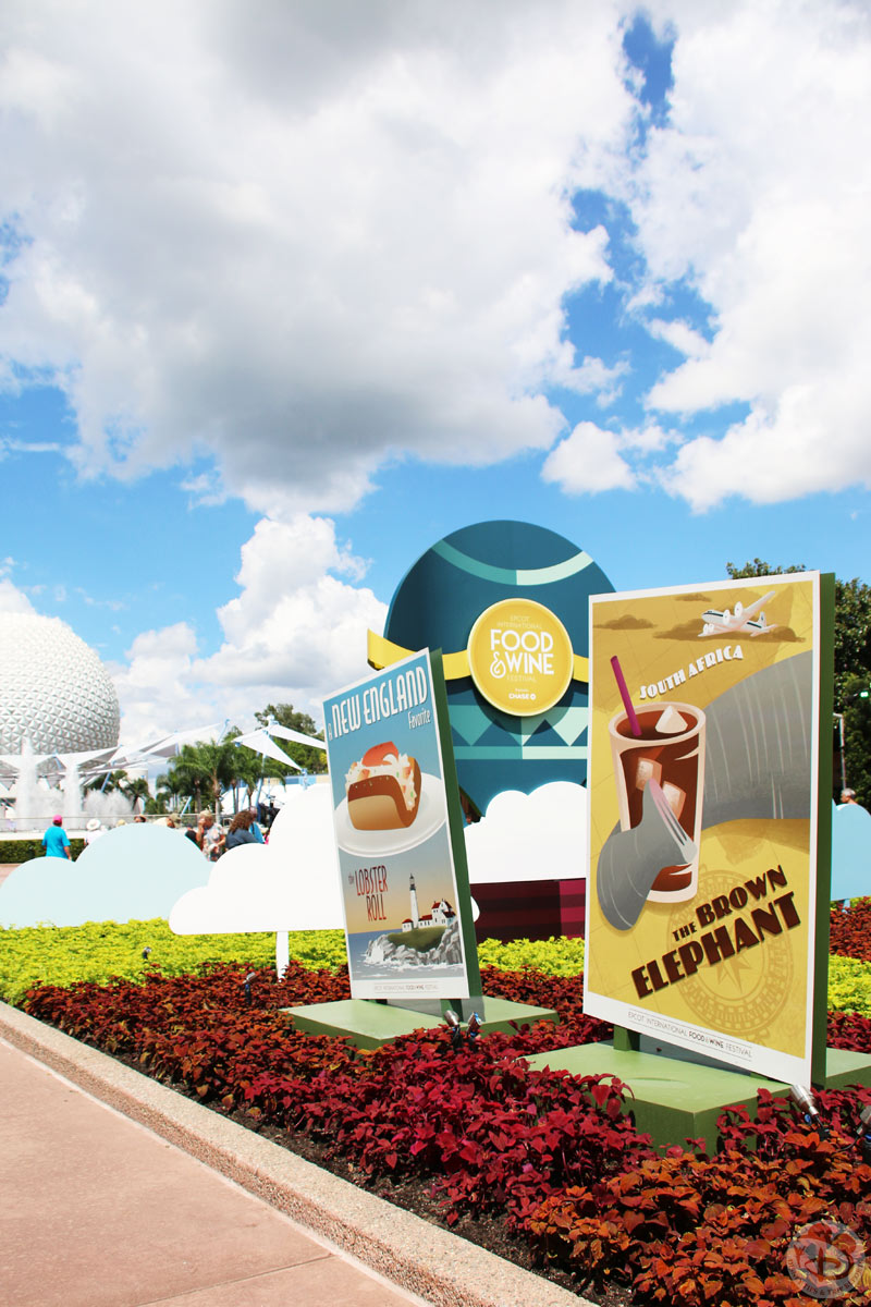 Day 12: A World Of Food » Epcot Food & Wine Festival / IllumiNations: Reflections of Earth