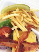 Disney Bacon Cheeseburger + Fries