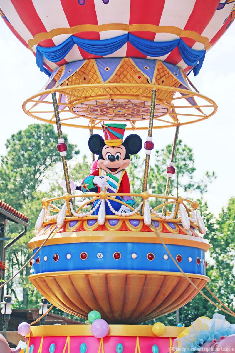 Mickey Mouse - Festival of Fantasy Parade - Magic Kingdom