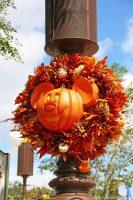 Magic Kingdom - Pumpkin Mickey Wreath