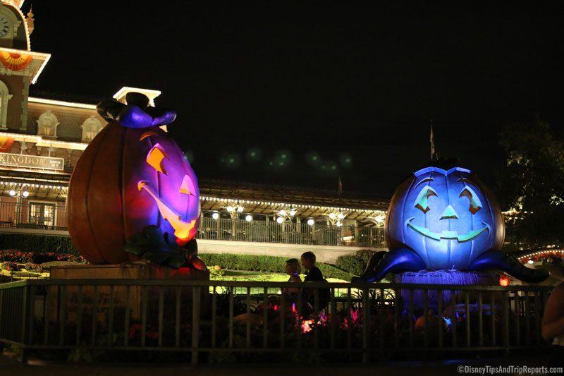 Magic Kingdom Entrance at Night