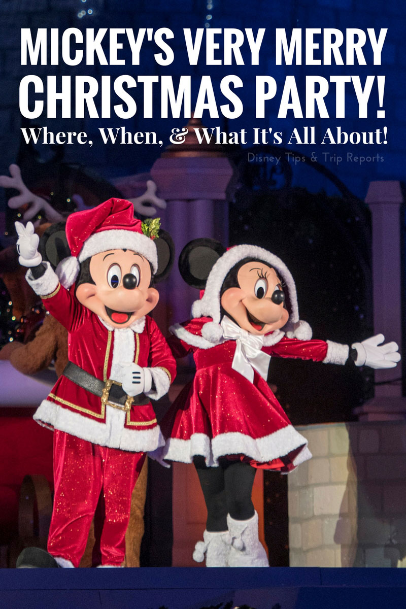 mickeys very merry christmas party info - Mickeys Christmas