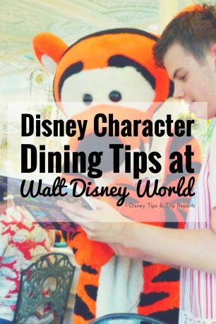 Disney Character Dining Tips at Walt Disney World