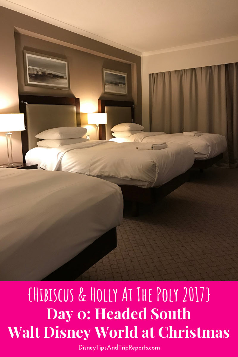 Day 0: Headed South / Hibiscus & Holly At The Poly Disney Trip Report 2017. In today's trip report is a review of the Hilton London Gatwick Airport Hotel en route to Orlando International Airport (MCO)