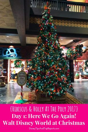Day 1: Here We Go Again! / Hibiscus & Holly At The Poly Disney Trip Report 2017. In today's trip report we travel from London Gatwick Airport to Orlando International Airport (LGW-MCO) with British Airways and check-in at Disney's Polynesian Village Resort!