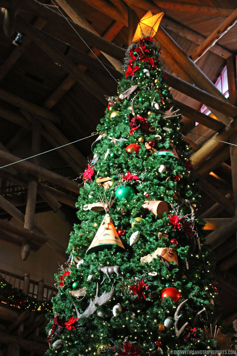 Disney's Wilderness Lodge - Christmas