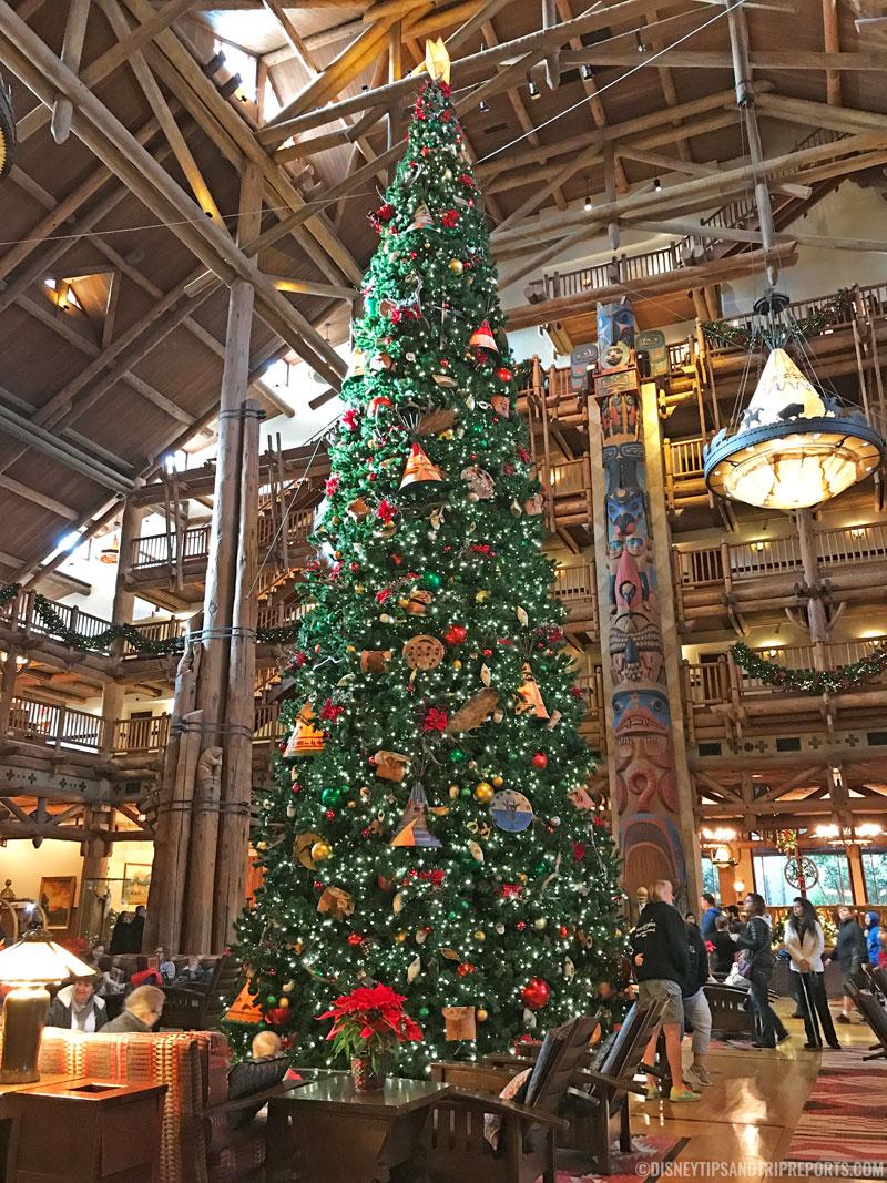 Wilderness Lodge - Christmas Trees